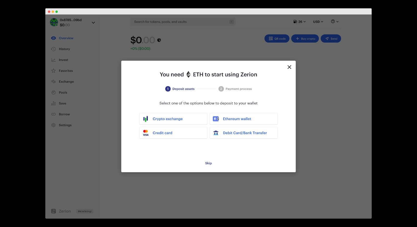 How do I create an Ethereum wallet?